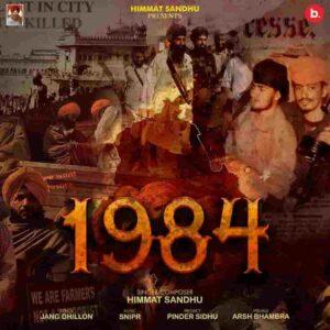 Himmat Sandhu 1984 Lyrics Status Download Punjabi Song Maa ne nai mainu jameya khadku baneya andro fukk ke WhatsApp status video black.